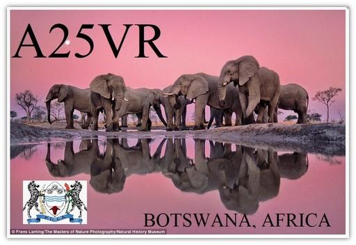 A25VR Botswana 2021