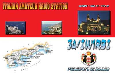 3A/IW1RBI - Monaco