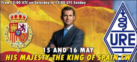 His Maj. King of Spain CW Contest 2021