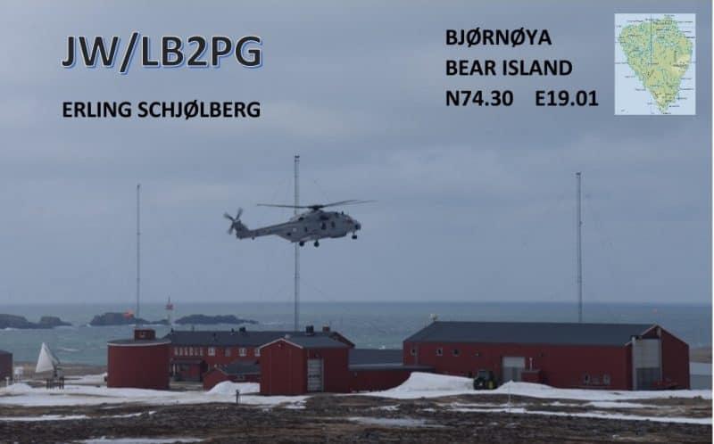JW/LB2PG Bear Island