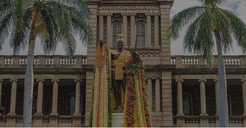 K6K King Kamehanema - Hawaii