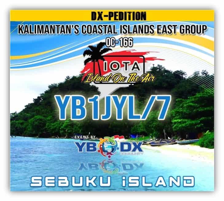 YB1JYL/7 Kalimantan's Coastal Islands
