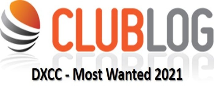 DXCC - Most Wanted 2021