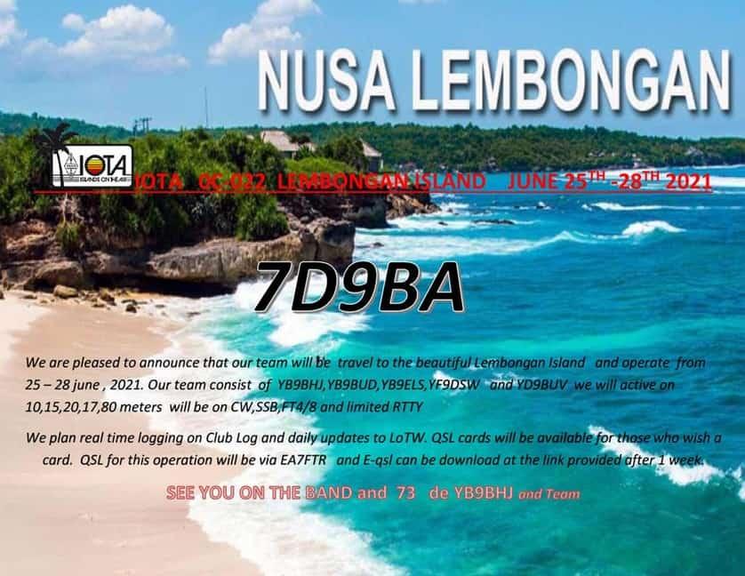 7D9BA - Lembongan Island