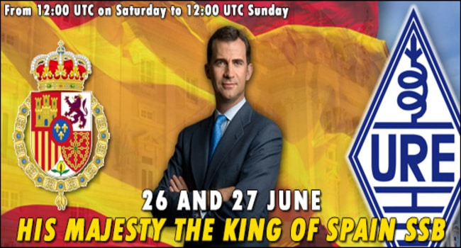 His Maj. King of Spain SSB Contesτ