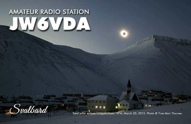 JW6VDA - Svalbard