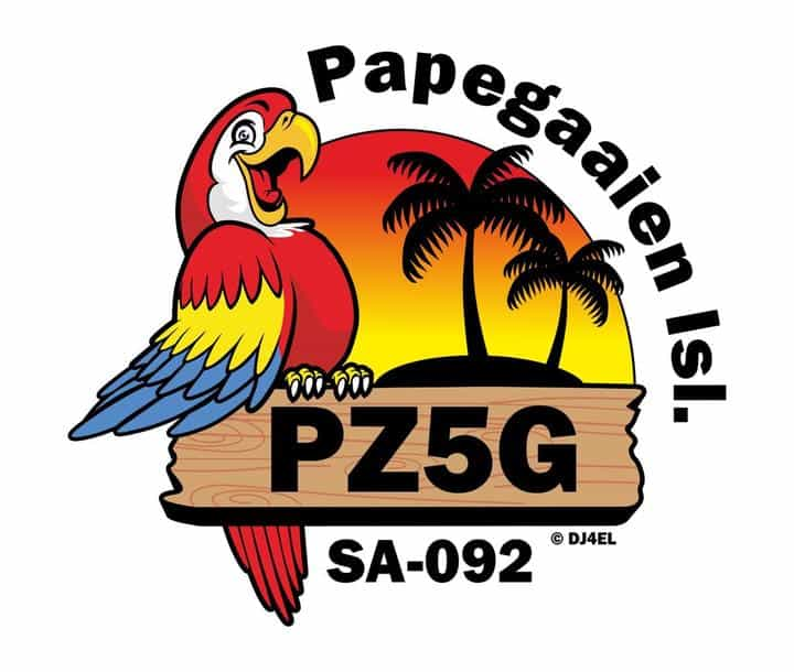 PZ5G Papegaaine Island