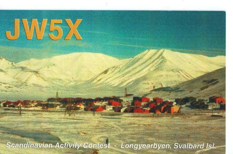 JW7XK JW6VM JW9DL JW5X - Svalbard