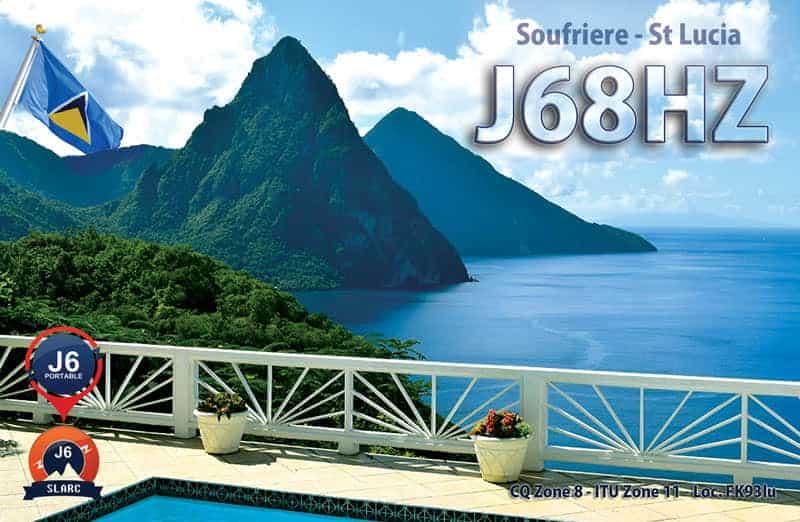 J68HZ - Saint Lucia Island