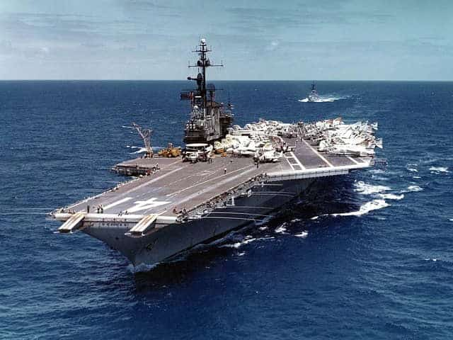 NI6IW - USS Midway - SES