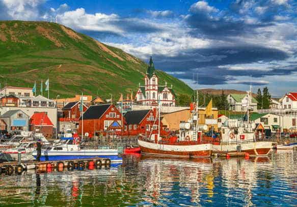 TF/HB9HKE – Iceland