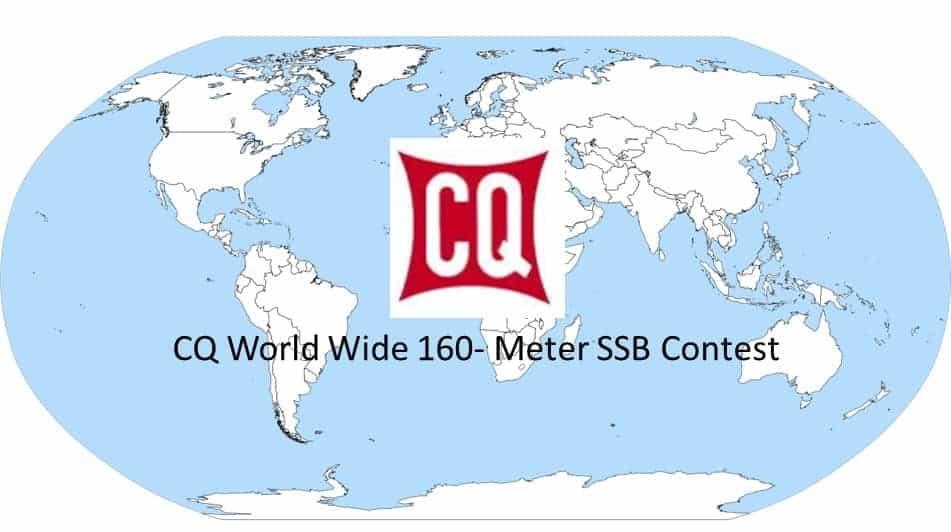 CQ WW 160M SSB - RESULTS 2021