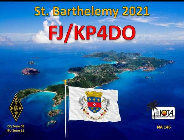 FJ/KP4DO – St Barthelemy Island | raag.org