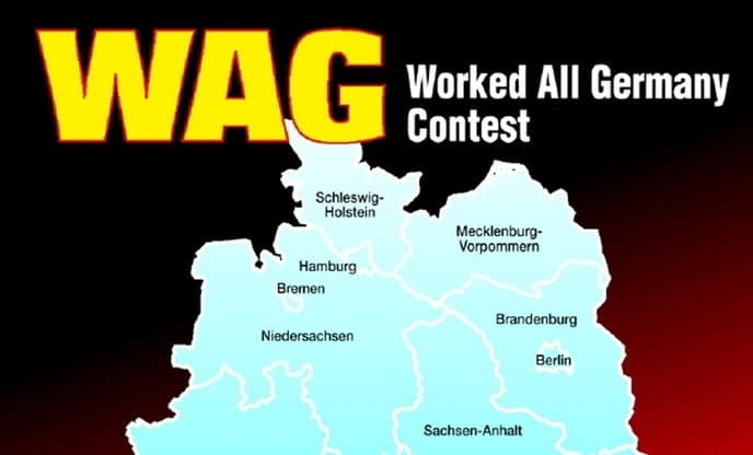 Worked All Germany Contest 2021