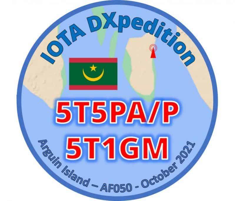 5T1GM 5T5PA/P - Arguin Island